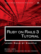 Cover of Ruby on Rails™ 3 Tutorial: Learn Rails™ by Example
