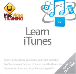 Learn iTunes: Mac Video Training