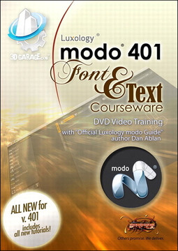 modo Text and Font Courseware
