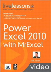 Power Excel 2010 with MrExcel LiveLessons (Video Training)