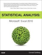Cover of Statistical Analysis: Microsoft