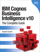 Book cover for IBM Cognos Business Intelligence v10: The Complete Guide