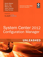 Cover of System Center 2012 Configuration Manager Unleashed
