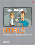 Cover of HTML5 Guidelines for Web Developers