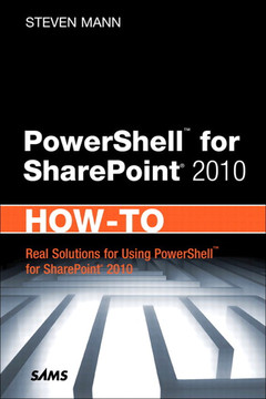 PowerShell™ for SharePoint