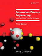 Book cover for Separation Process Engineering: Includes Mass Transfer Analysis, Third Edition