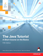 Cover of The Java® Tutorial: A Short Course on the Basics, Fifth Edition