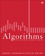 Cover of Algorithms, Fourth Edition