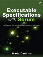 Cover of Executable Specifications with Scrum: A Practical Guide to Agile Requirements Discovery