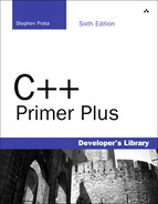Cover of C++ Primer Plus