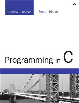 Programming in C, Fourth Edition