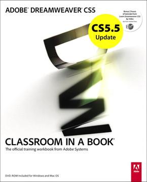 CS5.5 Update: Adobe Dreamweaver CS5 Classroom In A Book