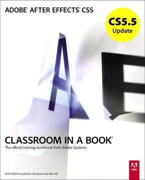 CS5.5 Update: Adobe After Effects CS5 Classroom In a Book