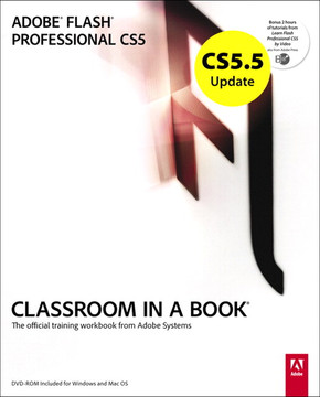 CS5.5 Update: Adobe Flash Professional CS5 Classroom In a Book
