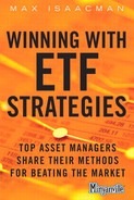 Cover of Winning with ETF Strategies: Top Asset Managers Share Their Methods for Beating the Market