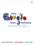 Cover of How Google Tests Software