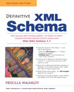 Cover of Definitive XML Schema, Second Edition