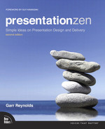 Cover of Presentation Zen: Simple Ideas on Presentation Design and Delivery, 2nd Edition