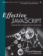 Cover of Effective JavaScript: 68 Specific Ways to Harness the Power of JavaScript