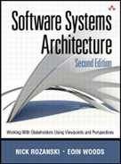 Cover of Software Systems Architecture: Working with Stakeholders Using Viewpoints and Perspectives, Second Edition