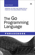 Cover of The Go Programming Language Phrasebook