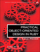Book cover for Practical Object-Oriented Design in Ruby: An Agile Primer