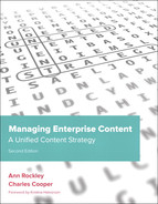 Cover of Managing Enterprise Content: A Unified Content Strategy, Second Edition