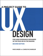 Cover of A Project Guide to UX Design: For user experience designers in the field or in the making, Second Edition