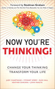 Cover of Now You're Thinking: Change Your Thinking... Revolutionize Your Career... Transform Your Life