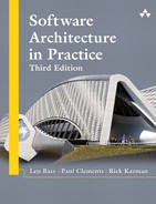 Book cover for Software Architecture in Practice, Third Edition