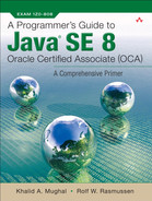 Cover of A Programmer's Guide to Java® SE 8 Oracle Certified Associate (OCA)