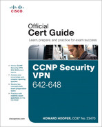 Cover of CCNP Security VPN 642-648 Official Cert Guide, Second Edition