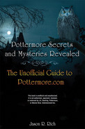 Cover of Pottermore Secrets and Mysteries Revealed: The Unofficial Guide to Pottermore.com