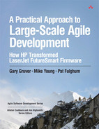 Cover of A Practical Approach to Large-Scale Agile Development: How HP Transformed LaserJet FutureSmart Firmware
