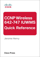 Cover of CCNP Wireless (642-747 IUWMS) Quick Reference