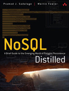 Book cover for NoSQL Distilled: A Brief Guide to the Emerging World of Polyglot Persistence