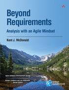 Cover of Beyond Requirements: Analysis with an Agile Mindset