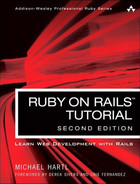 Cover of Ruby on Rails™ Tutorial: Learn Web Development with Rails, Second Edition