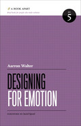 Cover of Designing for Emotion
