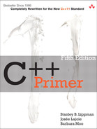Cover of C++ Primer, Fifth Edition