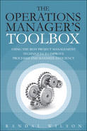 Cover of The Operations Manager's Toolbox: Using the Best Project Management Techniques to Improve Processes and Maximize Efficiency