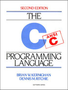 Cover of The C Programming Language, Second Edition