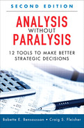 Cover of Analysis Without Paralysis: 12 Tools to Make Better Strategic Decisions, Second Edition