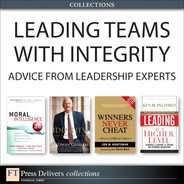 Cover of Leading Teams with Integrity: Advice from Leadership Experts (Collection)