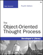 Cover of The Object-Oriented Thought Process, Fourth Edition