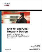 Cover of End-to-End QoS Network Design: Quality of Service for Rich-Media & Cloud Networks, Second Edition