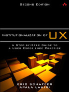 Cover of Institutionalization of UX: A Step-by-Step Guide to a User Experience Practice, Second Edition