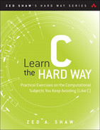 Cover of Learn C the Hard Way: A Clear & Direct Introduction To Modern C Programming