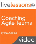 Cover of Coaching Agile Teams