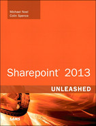 Cover of SharePoint® 2013 Unleashed